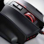 16000 dpi Souris laser de gaming   18 touches   Haute précision   Éclairage LED configurable   Technologie de capteurs Avago   MMO Gaming   Logiciel inclus (touches programmables)   Accélération jusqu'à 30G   Design ergonomique de la marque CSL-Computer image 1 produit