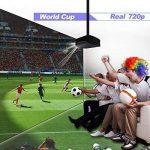 Artlii Vidéoprojecteur Full HD, Rétroprojecteur 3500 Lumens, Supporte Le 1080p, Compatible Chromecast, Clé USB, iPhone, PC, Console de Jeu Regarder Football, Jeux Video, Films de la marque Artlii image 1 produit