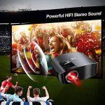 Artlii Vidéoprojecteur Full HD, Rétroprojecteur 3500 Lumens, Supporte Le 1080p, Compatible Chromecast, Clé USB, iPhone, PC, Console de Jeu Regarder Football, Jeux Video, Films de la marque Artlii image 4 produit
