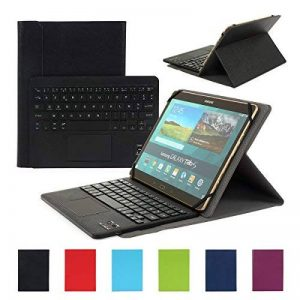Clavier AZERTY Bluetooth 3.0 Étui Housse pour tout système Windows Android Tablette PC 9.0-10.6 pouces Touchpad tactile de la marque CoastaCloud image 0 produit