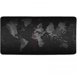 Cmhoo - Tapis de souris taille XL - Poour souris et jeu - Pour bureau 90x40 Map de la marque Cmhoo image 0 produit