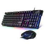 EMPIRE GAMING - Pack clavier et souris Gamer Empire K800 - Clavier RGB touches semi-mécaniques /Souris Gamer ambidextre 6 boutons 2400 DPI de la marque EMPIRE GAMING image 2 produit