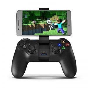 Tablette de t/él/éphone Mobile Android Compatible Noir Manette de Jeu sans Fil Bluetooth Manette de Jeu Manette de Jeu pour Android//iOS//PC Richer-R Manette de Jeu sans Fil sans Fil