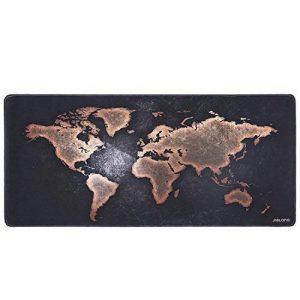 JIALONG Tapis de Souris Gaming XXL Grand sous Main Bureau Tapis Souris Gamer 900x400 (Map Monde) de la marque JIALONG image 0 produit