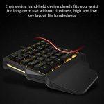Pueri Clavier mécanique clavier de jeu à une main mini-clavier de jeu repose-mains à 35 touches Clavier de jeu RVB Contre-jour coloré pour le jeu LOL/PUBG / Fortnite/Wow / Dota/OW de la marque Pueri image 3 produit