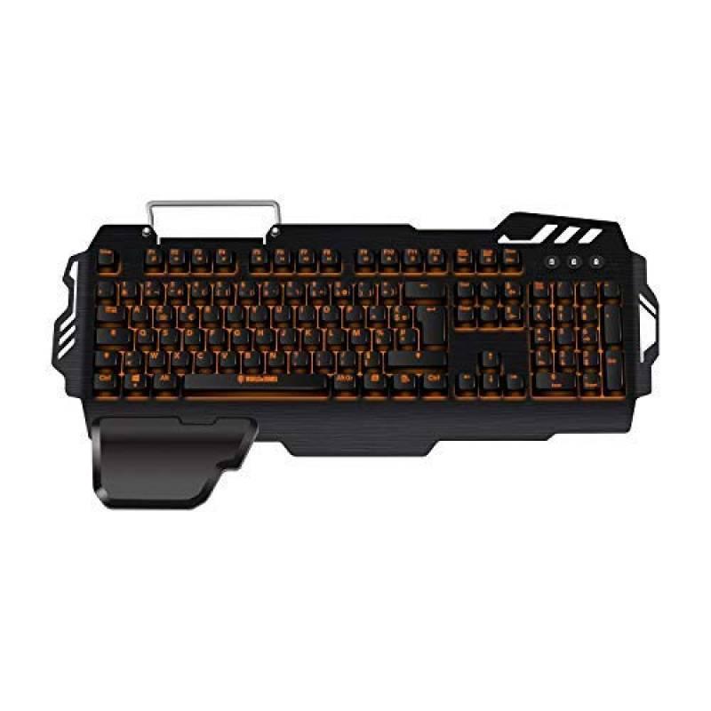 Bureau antid/érapant gel noir repose-poignet soutien confort pad pour PC ordinateur clavier de jeu plate-forme sur/élev/ée mains noir