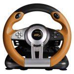 Speedlink DRIFT O.Z. Racing Wheel for PC (Vibration, pédales d'accélérateur et de frein, XInput et DirectInput) noir-orange de la marque Speedlink image 2 produit