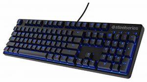 Steelseries Apex M500 USB Pannordique Noir clavier - claviers (USB, Jouer, Clavier mécanique, Pannordique, Avec fil, PC/serveur) de la marque SteelSeries image 0 produit