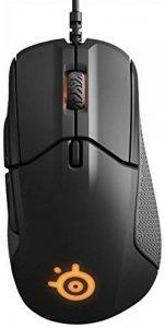 SteelSeries Rival 310 - souris optique de jeu - éclairage RVB / 6 boutons / bords en caoutchouc / mémoire intégrée (PC/Mac) - Noir de la marque SteelSeries image 0 produit