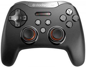 SteelSeries Stratus XL, Contrôleur Gaming sans fil, Bluetooth, 14 Boutons, (Windows/Android/Samsung Gear VR/HTC Vive/Oculus) - Noir de la marque SteelSeries image 0 produit